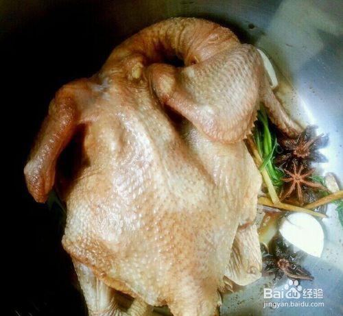 浇汁酱油鸡的正宗做法