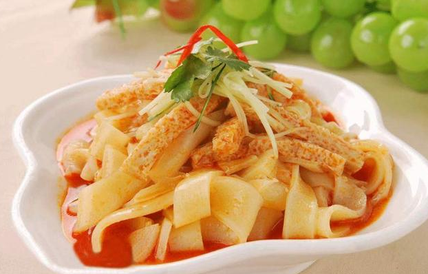 Food on the tip of the tongue—the bowl of Liang Pi from Shaanxi