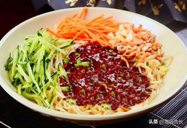 The practice of fried noodles